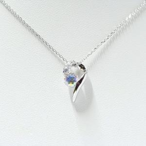 アンティエーレ ミスティックジルコニア  デザインネックレス silveringrowth