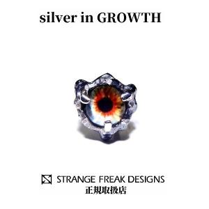 STRANGE FREAK DESIGNS(ストフリ)イーズル ピアス (シルバー925製) SFD-O-061-W|silveringrowth