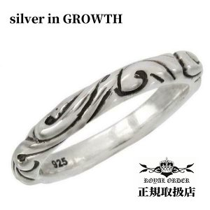 ロイヤルオーダー ROYAL ORDER /RIBBON BAND (シルバー925製) SR30|silveringrowth
