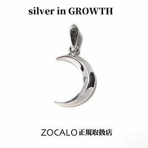ZOCALO ソカロ ペーパームーンペンダント3月 アクアマリン (シルバー925製) ZZPDG-0056GN|silveringrowth