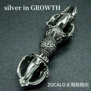 ZOCALO(ソカロ)クラウン・ドージェ : Crown Dorje (シルバー950製)|silveringrowth