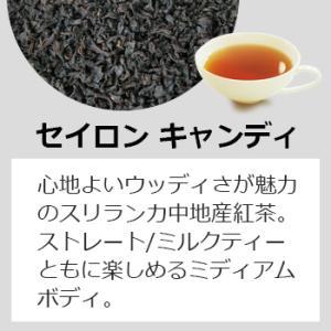 紅茶 ティーバッグ10個入りパック セイロン キャンディ ブレンド|silverpot-tea|02
