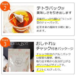 紅茶 ティーバッグ20個入りお徳用パック ミルクチョコレート|silverpot-tea|05