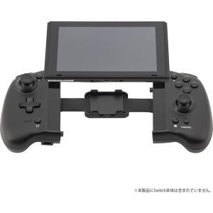 CYBER ダブルスタイルコントローラー SWITCH用 ブラック CY-NSSEPC-BK ゲーム...