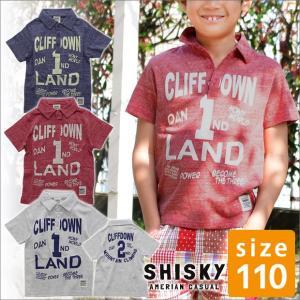 ポロシャツ 半袖 110cm キッズ アメカジ 白 子供服 男の子 半そで ジュニア服 送料無料|sime-fabric