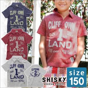 ポロシャツ 半袖 150cm キッズ アメカジ 白 子供服 男の子 半そで ジュニア服|sime-fabric