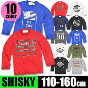 SHISKY シスキー プリント 長袖 Tシャツ ロンT シャツ ロゴ アメカジ ミリタリー 長袖Tシャツ 長袖シャツ トップス プリントロンT 送料無料|sime-fabric