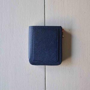 ITTI イッチ CRISTY VERY COMPACT WLT クリスティーベリーコンパクトウォレット / 藍桟革|simonsandco
