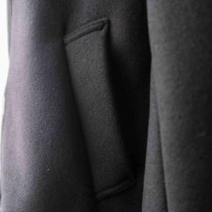 LA MOND. ラモンド WOOL STRETCH WRAP AROUND PARKA 2 colors|simonsandco|08