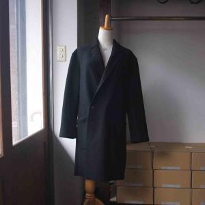 LA MOND. ラモンド WOOL STRETCH W-COAT 2 colors|simonsandco|10