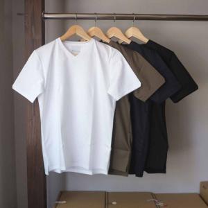 Re made in tokyo japan アールイー Tokyo Made Dress T-shirt V-neck トウキョウメイドドレスTシャツ 2 colors|simonsandco