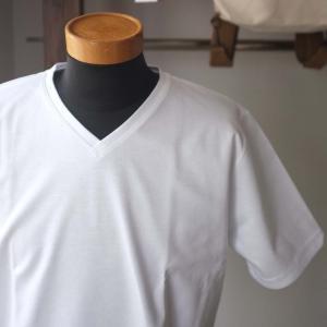Re made in tokyo japan アールイー Tokyo Made Dress T-shirt V-neck トウキョウメイドドレスTシャツ 2 colors|simonsandco|02
