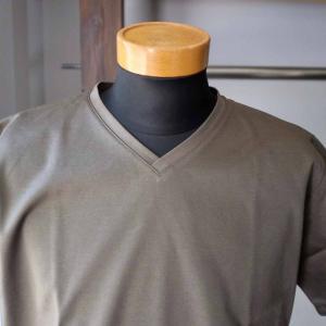 Re made in tokyo japan アールイー Tokyo Made Dress T-shirt V-neck トウキョウメイドドレスTシャツ 2 colors|simonsandco|07