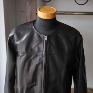 Re made in tokyo japan アールイー Japan Horse Leather Blouson  ジャパンホースレザーブルゾン black simonsandco 02