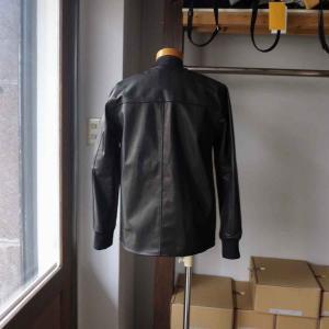 Re made in tokyo japan アールイー Japan Horse Leather Blouson  ジャパンホースレザーブルゾン black simonsandco 04