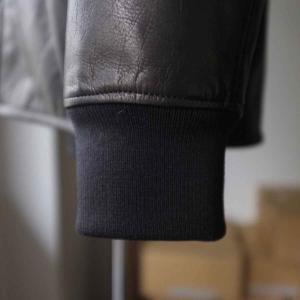 Re made in tokyo japan アールイー Japan Horse Leather Blouson  ジャパンホースレザーブルゾン black simonsandco 06