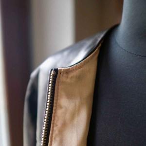 Re made in tokyo japan アールイー Japan Horse Leather Blouson  ジャパンホースレザーブルゾン black simonsandco 07