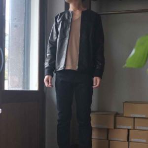 Re made in tokyo japan アールイー Japan Horse Leather Blouson  ジャパンホースレザーブルゾン black simonsandco 08