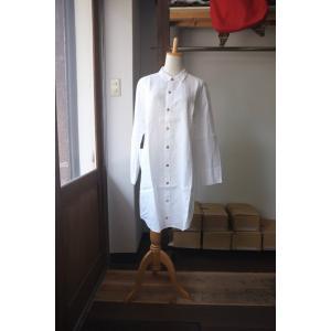 SARAXJIJI サラジジ linen long shirt リネンロングシャツ 2 colors|simonsandco