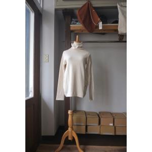 SARAXJIJI サラジジ original recycle cotton high neck PU オリジナルリサイクルコットンハイネックPU 2 colors|simonsandco
