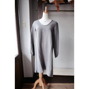 SARAXJIJI(サラジジ) Wri-linen long PU long sleeve(リンクルリネンロングプルオーバー長袖)<2 colors>|simonsandco