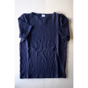 Tieasy ティージー Original Boatneck Basque Shirt  Short Sleeve 4 colors simonsandco
