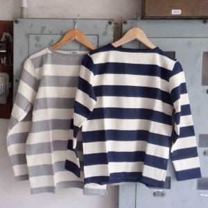 Tieasy(ティージー) HDCS WIDE BORDER BASQUE SHIRT(ワイドボーダーバスクシャツ) <2 colors>|simonsandco