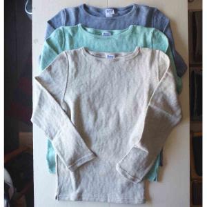 Tieasy ティージー Original Boatneck Shirt オリジナルボートネックシャツ  3 colors|simonsandco