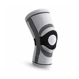 FREETOO 膝サポーター シリカゲルパッド付 段階減圧 通気性 快適さ 関節 靭帯 筋肉保護 痛...