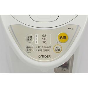 タイガー マイコン電気ポット 2.2L アーバンホワイト  PDR-G220-WU|simpleplan