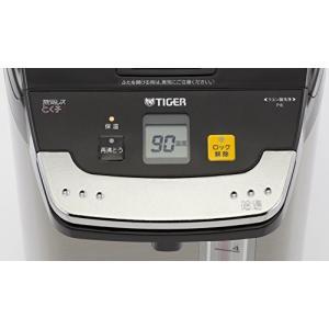 タイガー 魔法瓶 電気 ポット 5L ブラック 蒸気レス 節電 VE 保温 とく子さん PIE-A500-K Tiger|simpleplan