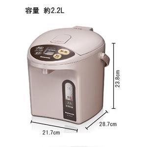 パナソニック 電気ポット マイコン沸騰ジャーポット 2.2L ベージュ NC-BJ224-C simpleplan