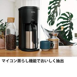 サーモス 真空断熱ポットコーヒーメーカー 0.63L ブラック ECJ-700 BK|simpleplan