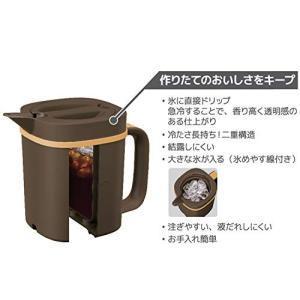 サーモス アイスコーヒーメーカー 0.66L キャラメル ECI-661 CRML|simpleplan
