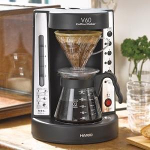 HARIO V60 珈琲王コーヒーメーカー 2~5杯用 ワインレッド EVCM-5WR|simpleplan