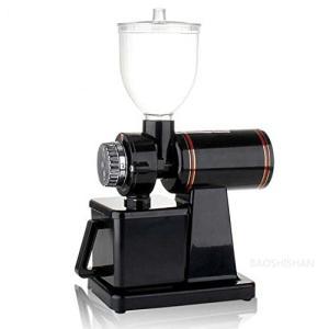 BAOSHISHAN 電動コーヒーミル 電動式コーヒーグラインダー 細挽き 中挽き 粗挽きまで8段階...