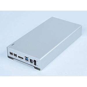 RebDrive FireWire 3.5 トリプルインターフェース 3.5インチ SATAドライブ用外付けハードディスクケース(Mac OS 起動 simpleplan