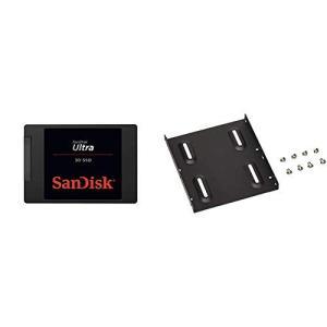 SanDisk 内蔵 2.5インチ SSD / SSD Ultra 3D 500GB / SATA3...