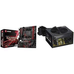 MSI B450M GAMING PLUS M-ATX ゲーミングマザーボード [AMD B450チ...
