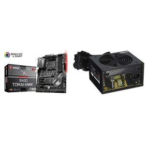 MSI B450 TOMAHAWK ATX マザーボード [AMD B450チップセット搭載] MB...