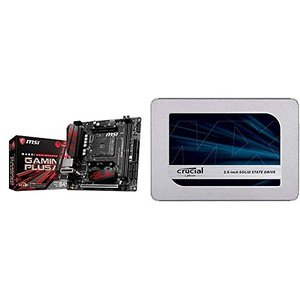MSI B450I GAMING PLUS AC Mini-ITX ゲーミングマザーボード [AMD...