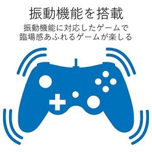 エレコム ゲームパッド USB接続 Xinput/DirectInput両対応 Xbox系12ボタン振動/連射 【ドラゴンクエストX 眠れる勇者と導|simpleplan