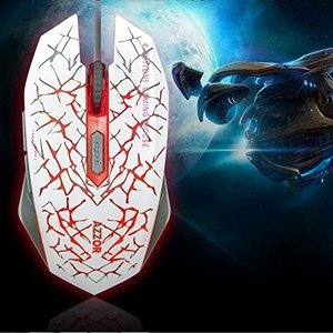 TENMOS テンモス 有線マウス ゲーミングマウス 光学式マウス 静音マウス 6ボタン搭載 100...
