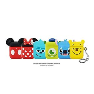 「NEW 1・2世代共用」(リング付き) DISNEY・PIXAR AIRPODS SILICONE CASE APPLE ディズニー・ピクサー・エ|simpleplan