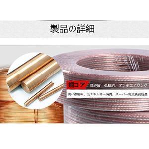 YFFスピーカーケーブル 銅とアルミのクラッド鋼素材 CCA スピーカーワイヤー|simpleplan