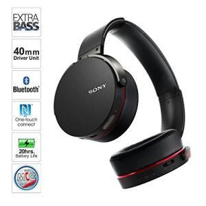 ソニー SONY ワイヤレスヘッドホン MDR-XB950BT : Bluetooth対応 折りたた...