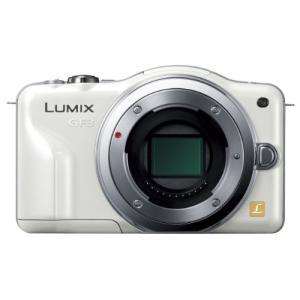 パナソニック ルミックス ミラーレス一眼カメラ/ボディ フルハイビジョンムービー一眼 シェルホワイト DMC-GF3-W|simpleplan