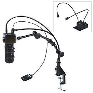 ホーザン(HOZAN) マイクロスコープ HDMI出力 倍率2.8~76× フレキシブルアーム照明 ...