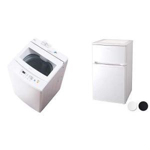 【セット販売】アイリスオーヤマ 全自動洗濯機 7.0kg IAW-T702 & 冷蔵庫 81...