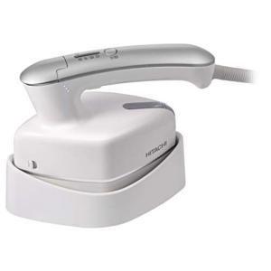 日立 衣類スチーマー 温度調整機能・ブラシ付き ホワイト CSI-RX2 W|simpleplan